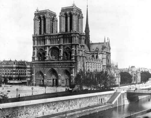 Notre Dame hailed as monument to the 'best of civilization'