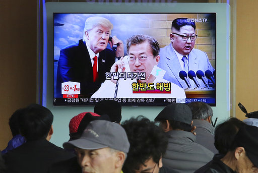 The Latest: US: 'potentially positive symbols' from N. Korea
