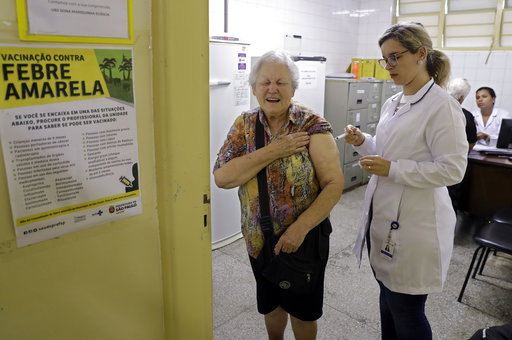 Brazil yellow fever outbreak largest in decades; 846 cases