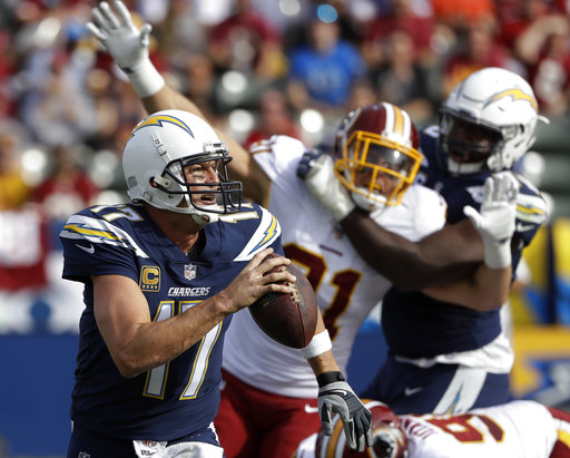 At 36, Philip Rivers is on a roll with surging LA Chargers