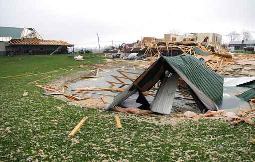 Storms leave deaths, damage and injuries in their wake