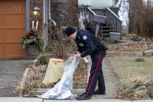 Canada police dig for clues after landscaper tied to deaths
