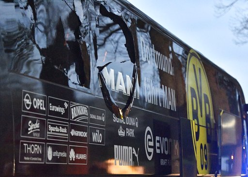 Suspect in bombing of German team bus to go on trial Dec. 21