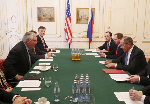 Tillerson says Ukraine key sticking point in US-Russia ties