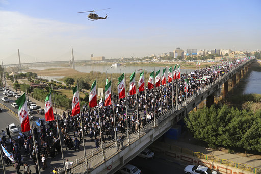Pro-government rallies held in Iran after week of unrest