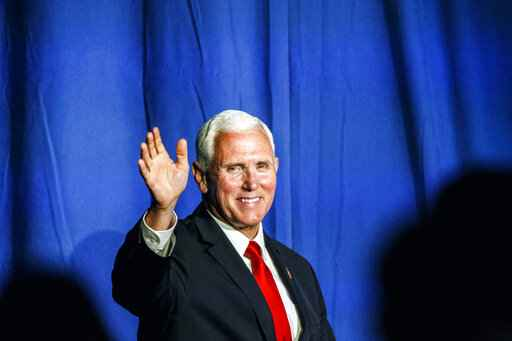Vice President Mike Pence at Republican Party state dinner in Camp Hill