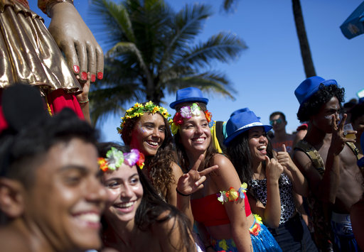 Rio Carnival evolves into low-cost street party extravaganza