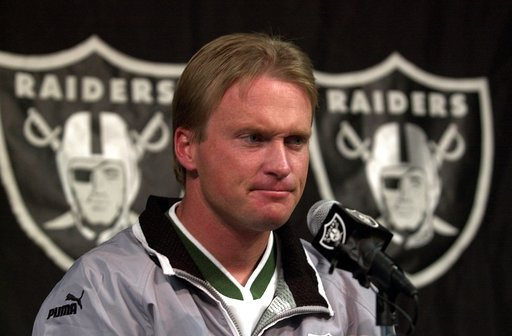 Gruden: There's 'good chance' he'll return as Raiders coach
