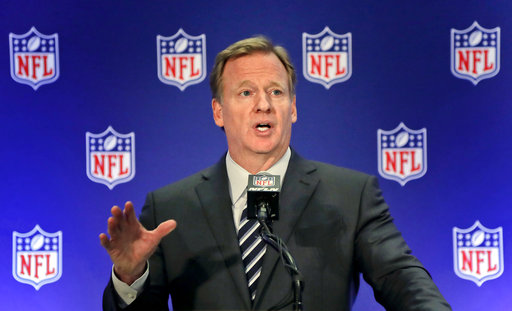 Goodell: NFL not changing its national anthem policy