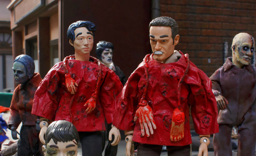 'Robot Chicken' hatches a dead-on 'Walking Dead' spoof