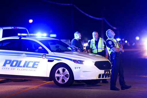 Officer killed 6 other officers wounded in South Carolina