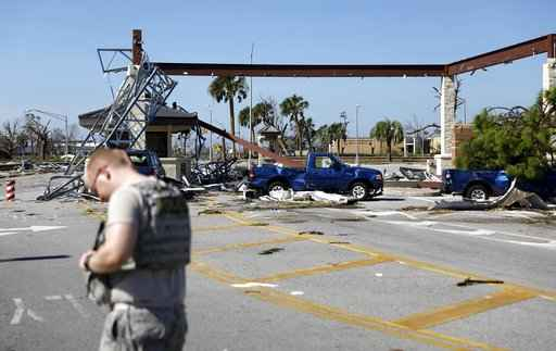 Tyndall Air Force Base sustains 'catastrophic' damage
