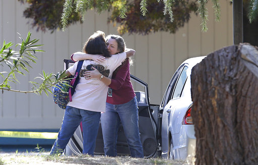 Gunman targeted neighbors then continued rampage