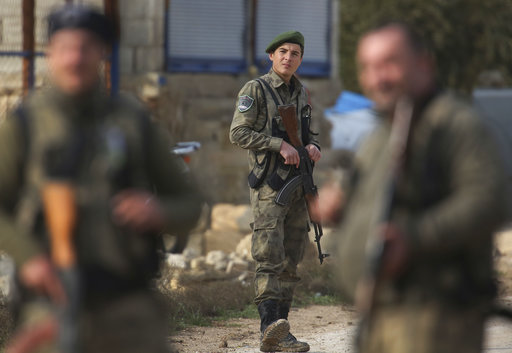 Syrian rebels seek relevance by joining Turkey's offensive
