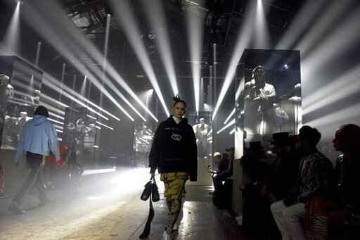 Palm Angels lights up NY Fashion Week with strobes, stags