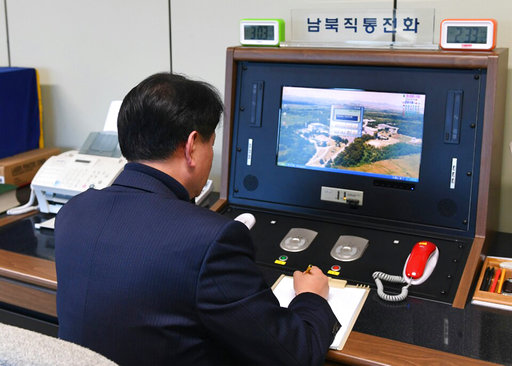 N. Korea reopens cross-border communications with S. Korea