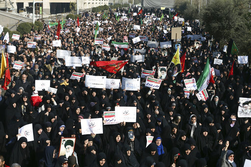 Trump throws full US support behind protesters in Iran
