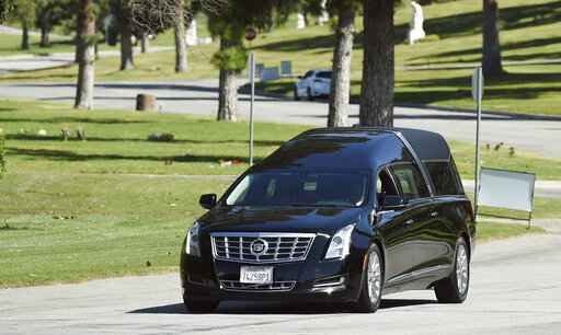 The Latest: Rapper Nipsey Hussle laid to rest at LA cemetery