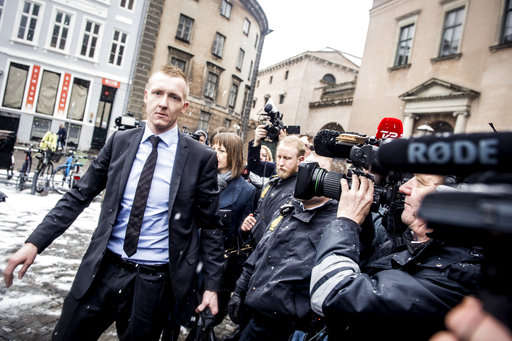 Danish inventor denies killing journalist at murder trial
