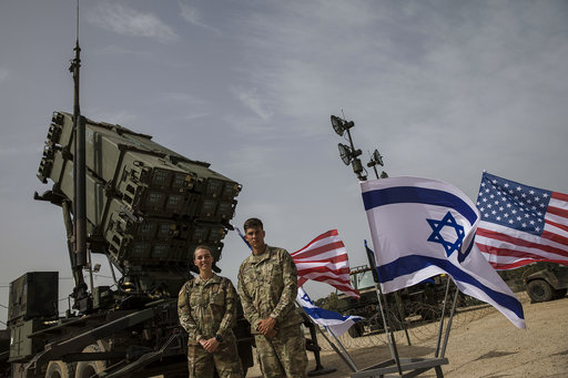 Israel, US troops train together to counter missile threats