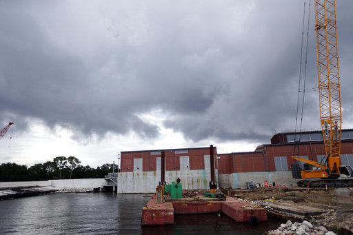 Nate aims at New Orleans amid worries about drainage system