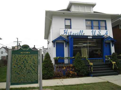 Motown Museum unveils artifacts to mark 60th anniversary