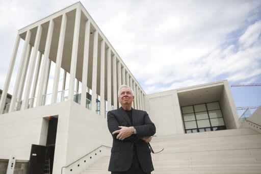 Berlin opening new addition to its Museum Island complex