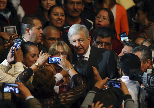 Leftist president hopeful vows to erase Mexico's corruption