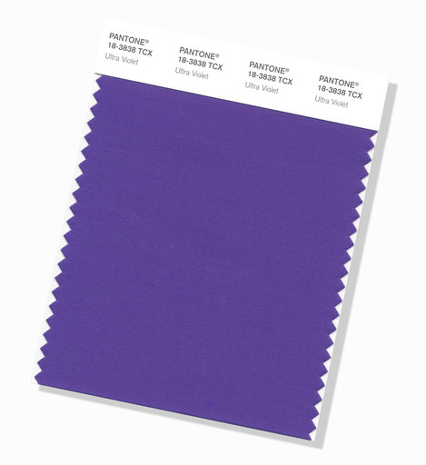 Pantone picks deep purple 'Ultra Violet' as color of year