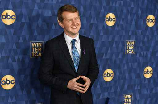 FILE - In this Wednesday, Jan. 8, 2020, file photo, Ken Jennings, a cast member in the ABC television series