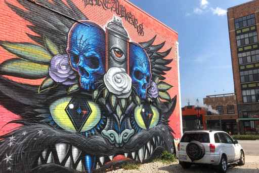 Mercedes sues in dispute with artists over Detroit murals