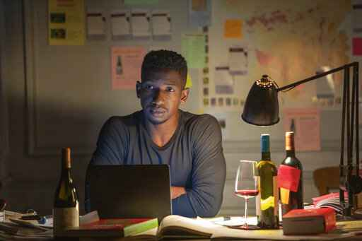 This image released by Netflix shows Mamoudou Athie in a scene from