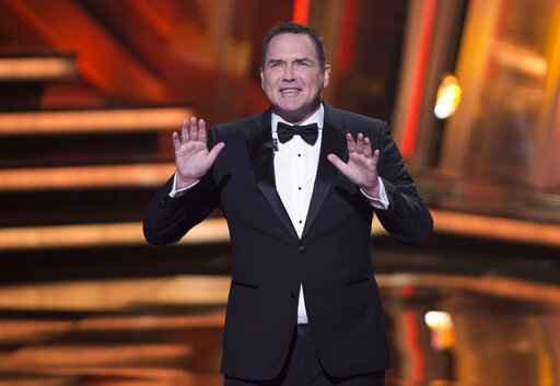 FILE - Norm Macdonald hosts the Canadian Screen Awards in Toronto on March 13, 2016. Macdonald, a comedian and former cast member on