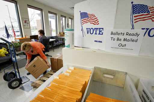 Locked-down California sends mail-in ballots to every voter