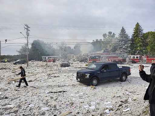 One Firefighter Dead, Several Injured When Building Explodes In Farmington