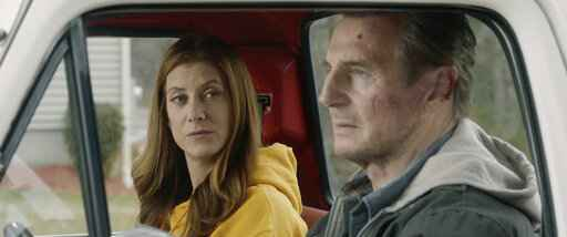This image released by Open Road Films shows Kate Walsh, left, and Liam Neeson in a scene from