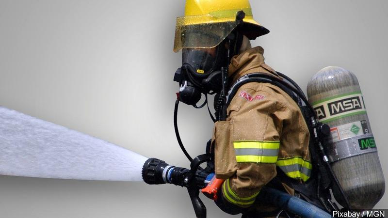 Fire Damages Mobile Home