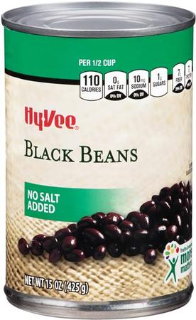 Hy-Vee Recalls No-Salt-Added Black Beans Due to Potential Foreign Material