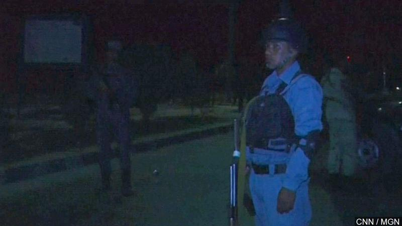 Attack Underway at American University In Afghan Capital