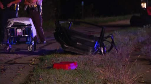 Car Crashes into Tree in Rochester