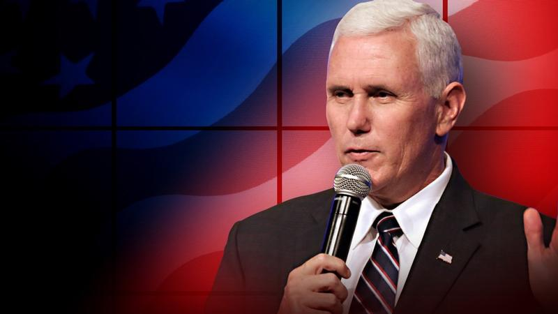 Mike Pence campaigns in Holland on Saturday