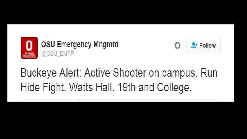 Ohio State University shooting: 7 people taken to hospital, fire department says