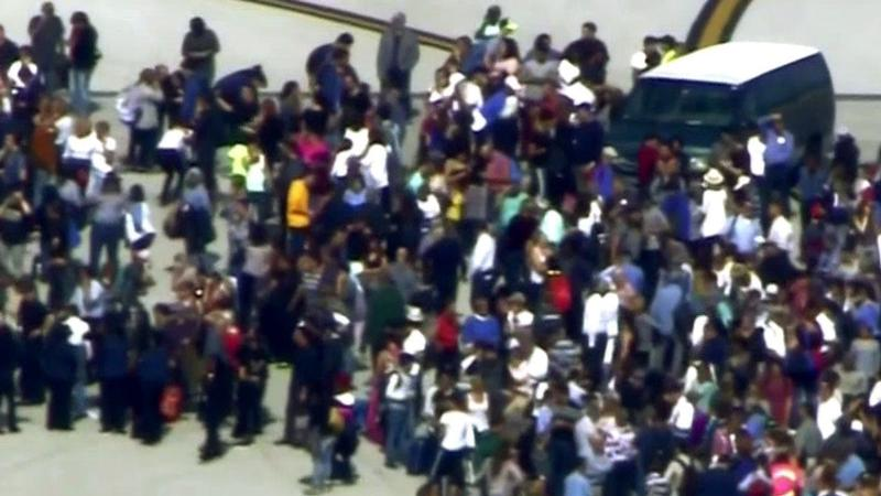 Shooting reported at Fort Lauderdale airport; people evacuated., Photo Date: January 06, 2017