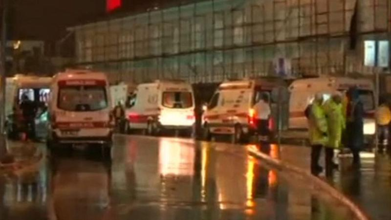 Turkey 'terror' attack: Gunfire reported in Istanbul nightclub on New Year's Eve, Photo Date: 12/31/16