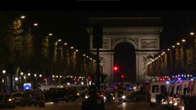 The Latest: Police Raid Home Believed to be Linked to Paris Attack