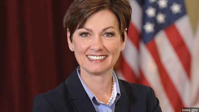 Iowa Lt. Gov. Kim Reynolds
