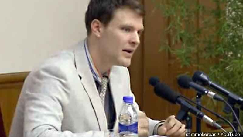 Tillerson: North Korea releases US citizen Otto Warmbier