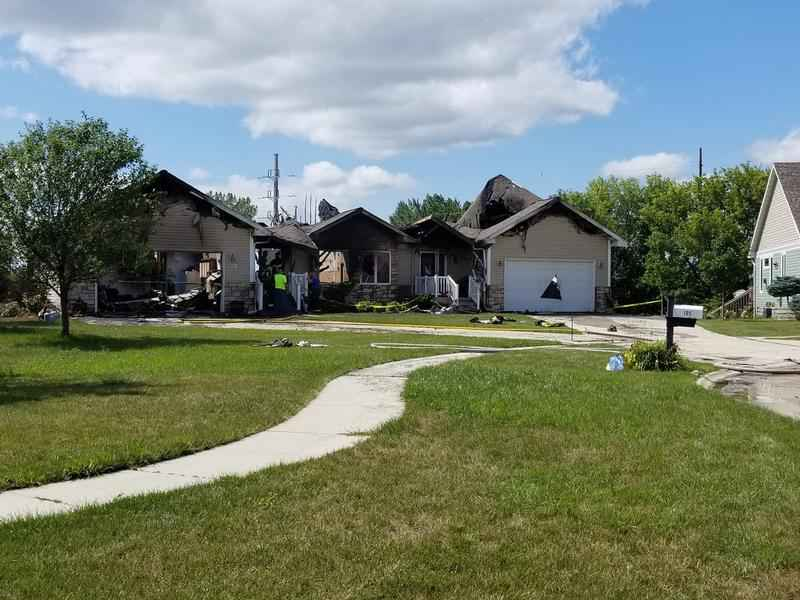 Duplex Destroyed by Fire in Clear Lake, IA