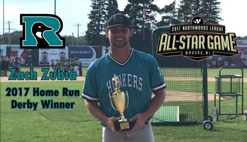Honkers' Zubia crowned home run derby champion