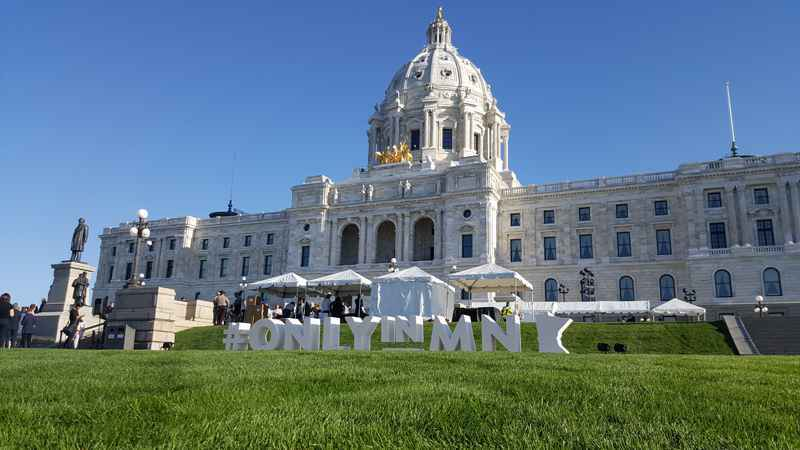 Minnesota's Capitol is Restored and Open